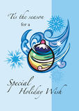 2860 Blue Holiday Wish