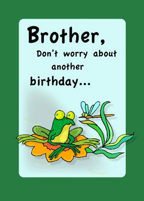 4086 Brother Birthday, Frog Humor