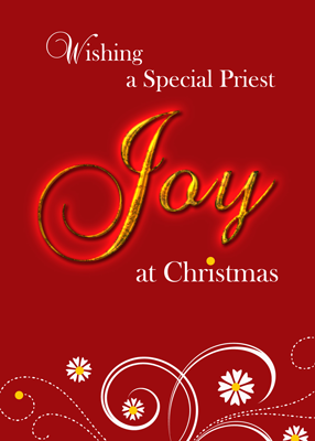 4014 Priest, Joy at Christmas