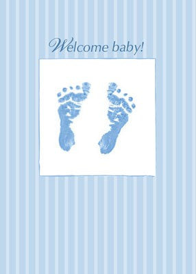 4156 Baby Boy Footprints
