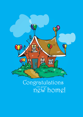 2857 Balloon House Congratulations