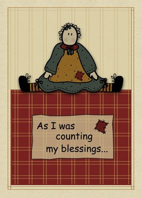 3277 Count Blessings Country Doll