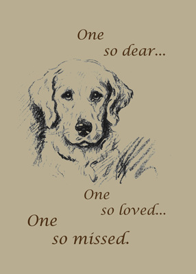 2788 Retriever Pet Sympathy