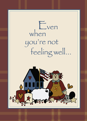 2778 Doll, House, Sheep Get Well
