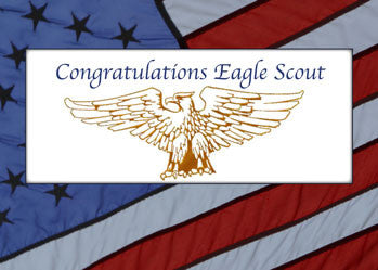 4119 Eagle Scout Congratulations Flag