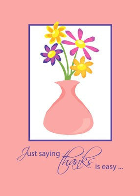 4155 Thank You Flowers in Vase