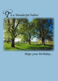 4088 Father Birthday Trees