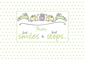 2660 First Smiles, First Steps Baby Congratulations
