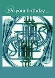 4168 French Horn Birthday
