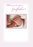 2817 Girl Godfather Invitation