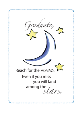 3474 Graduate Reach for Moon