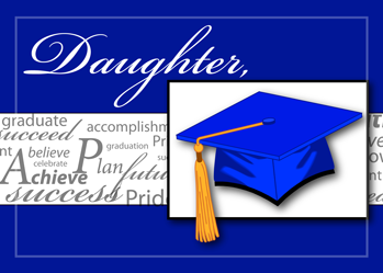 3727 Daughter Graduation Words