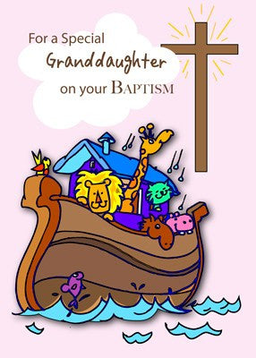 4350 Granddaughter Noah's Ark Baptism