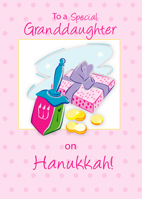 4008 Hanukkah Granddaughter