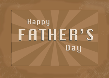 3652 Happy Father's Day