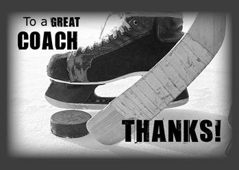 3817 Ice Hockey Coach Thank You