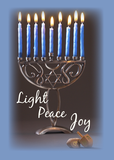 3346 Hanukkah Light Peace Joy