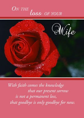 4369 Loss of Wife, Red Rose, Religious
