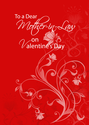 3552 Mother-in-Law Red Valentine