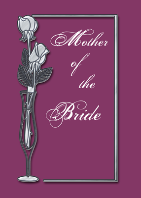 3955 Mother of Bride, Plum and Silver