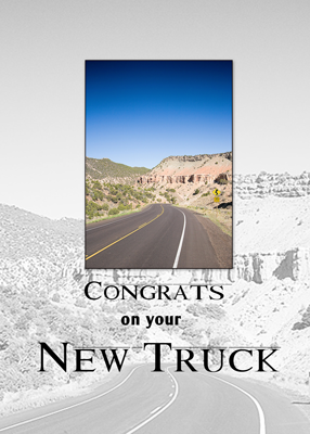 3719 New Truck Congratulations