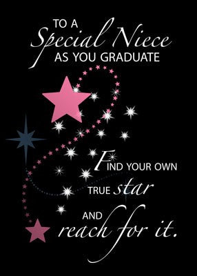3730 Niece Graduation Star