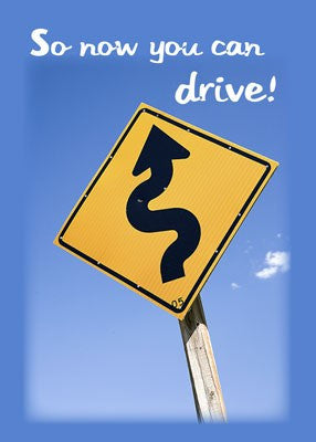 4367 Now You Can Drive, Road Sign