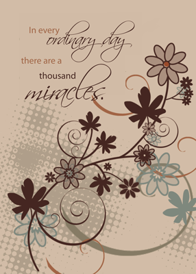 3501 12 Step Recovery, Ordinary Day Miracles