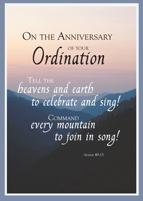 2687 Ordination Anniversary Heaven & Earth