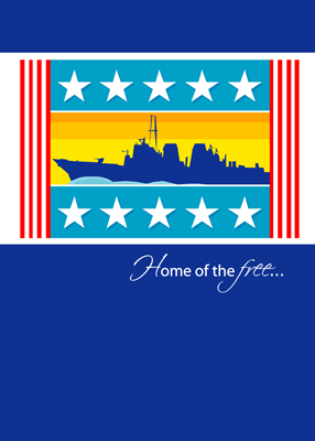 3442 Patriotic Naval Ship Support