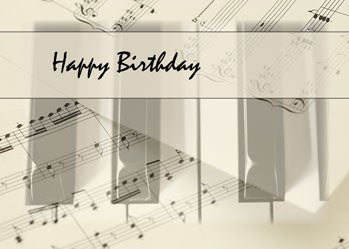 4192 Piano Music Birthday