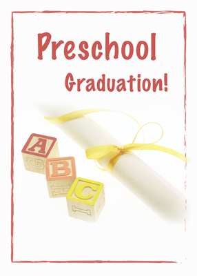 3735 Preschool Graduation Blocks
