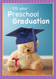 3746 Preschool Graduation Teddy