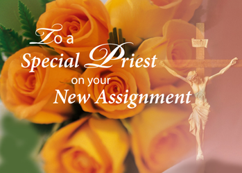 3764 Blessings to Priest New Assignment