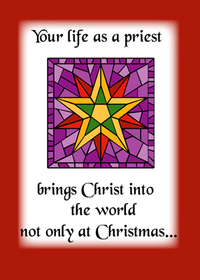4016 Priest Christmas Star