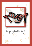 2744 Red Sandals Birthday