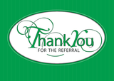 3963 Referral Thank You, Green
