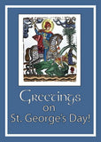 4143 St. George's Day, Blue