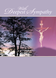 3766 Sympathy Religious Tree Cross