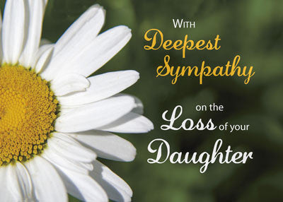 4463 Loss of Daughter, Purple Flower Sympathy