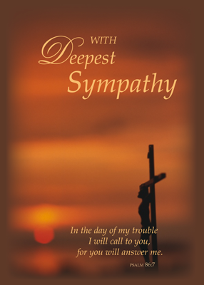 3774 Sympathy Sunset Cross