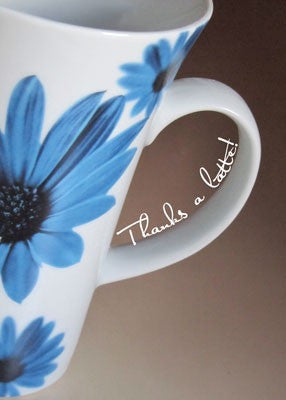 4113 Thanks a Latte Coffee Mug