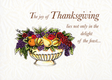 2799 Religious Thanksgiving Fruit Bowl