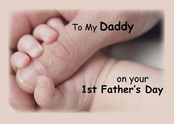 4137 My Daddy's First Father's Day