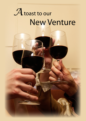 3641 Toast to New Business Venture