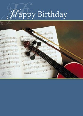 4194 Musical Strings Birthday, Classical