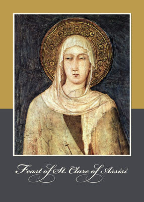 52296 St. Clare of Assisi Feast Day Blessings