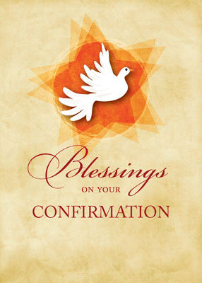 51893A Confirmation Congratulations Blessings Dove