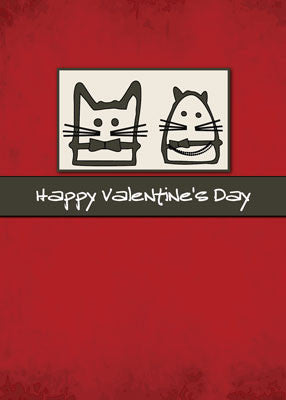 52212 Valentine's Day Cats Love