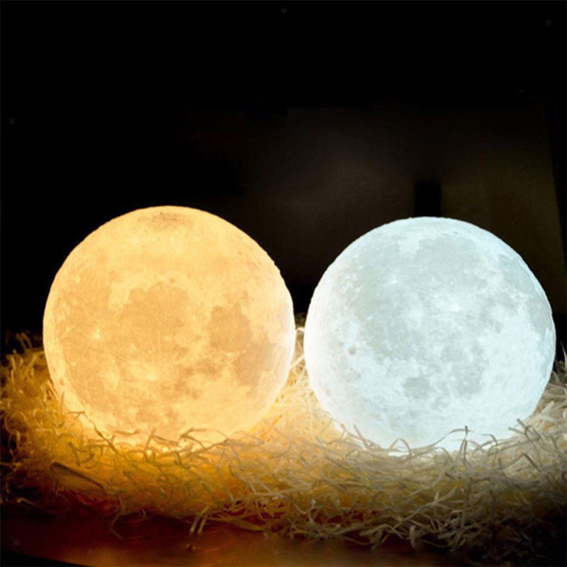 3DMoonLight™ - Luna Lámpara LED
